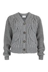 Popa Cardigan Grey