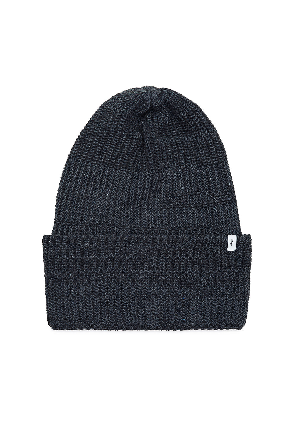 Recycled Denim & Merino Beanie