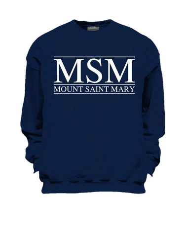 Blue MSM Sweatshirt