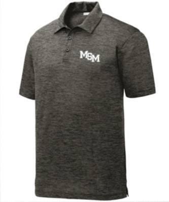 Men's Grey Polo Shirt