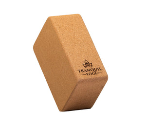 Illume Yoga Block - Cork - TranquilYogi