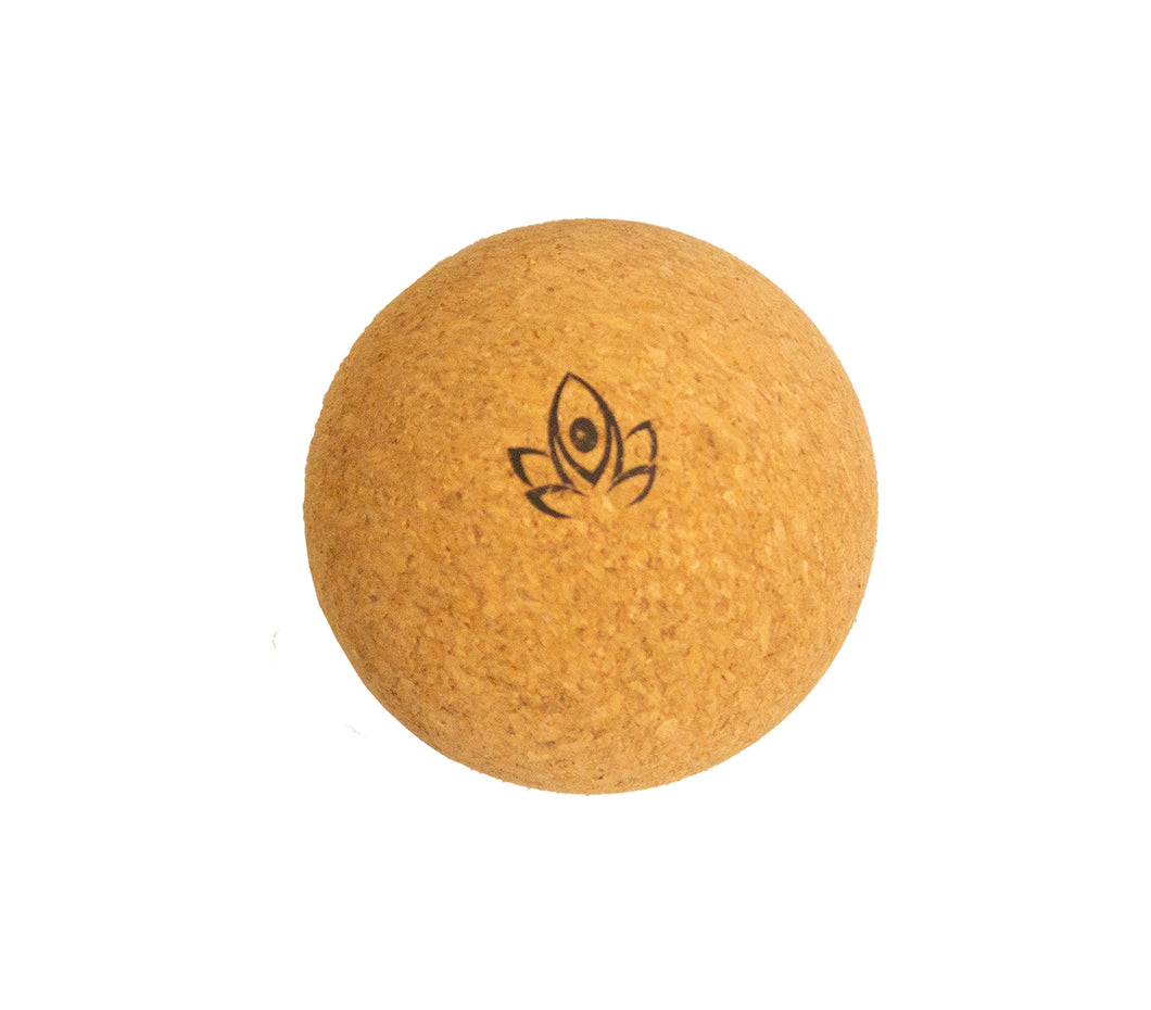 All Natural Cork Massage Ball and Peanut - TranquilYogi