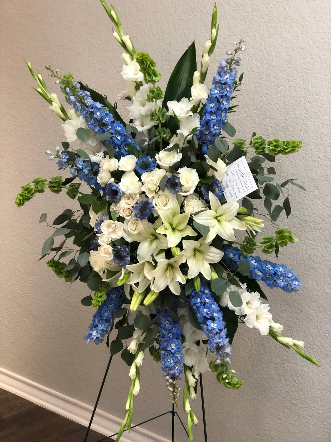 Standing Spray Arrangement