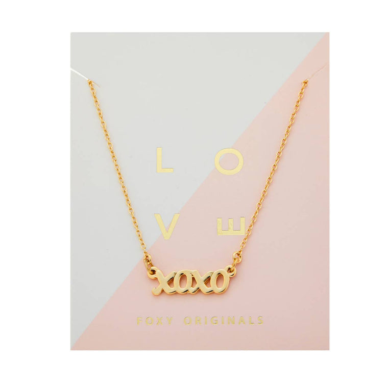 Love Her - Xoxo Necklace