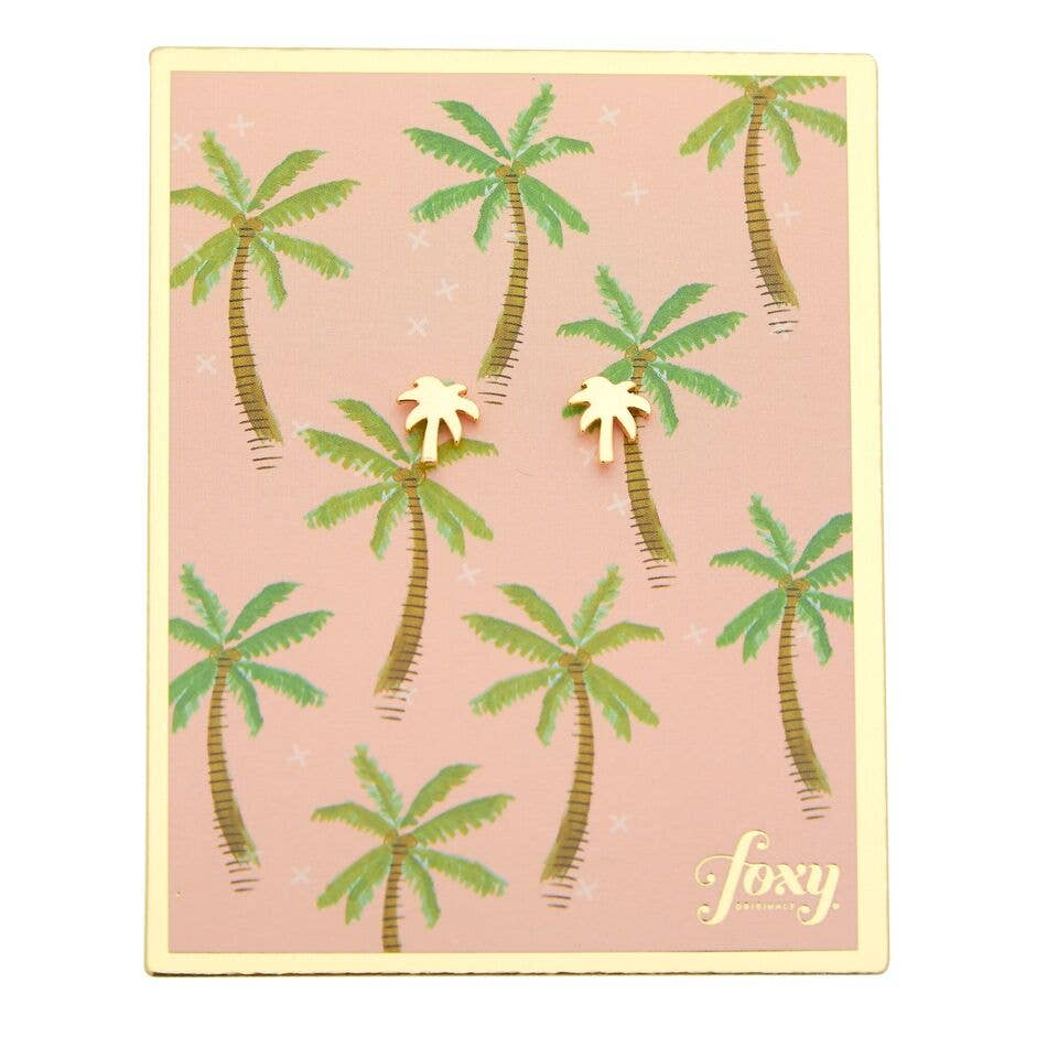 Pop Paradise - Palm Earrings