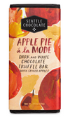 Apple Pie a la Mode Dark and White Chocolate Truffle Bar