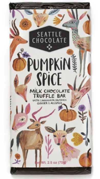 Pumpkin Spice Milk Chocolate Truffle Bar