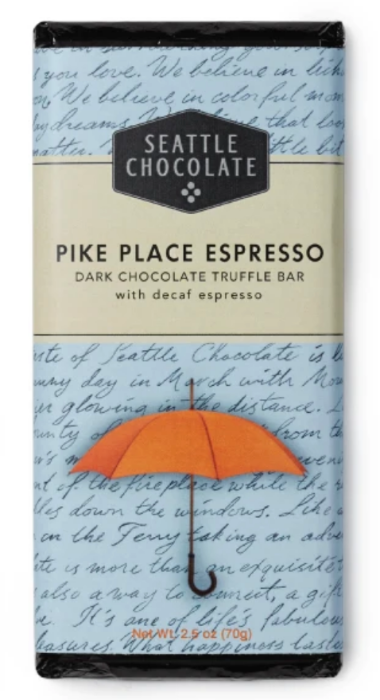 Pike Place Espresso Dark Chocolate Truffle Bar