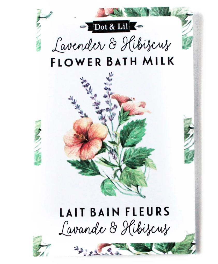 Flower Bath Milk Sachet