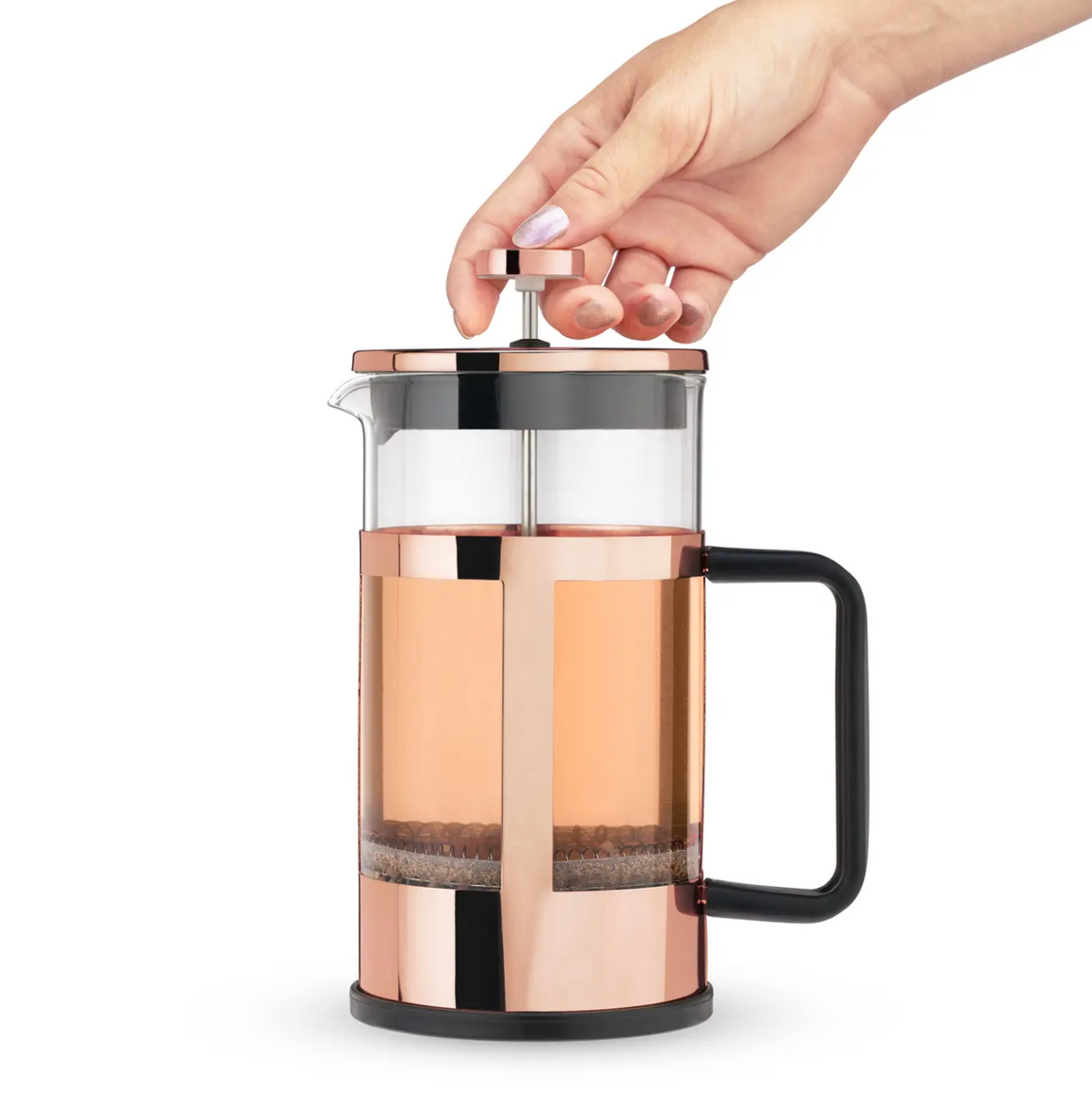 Rose Gold Press Pot