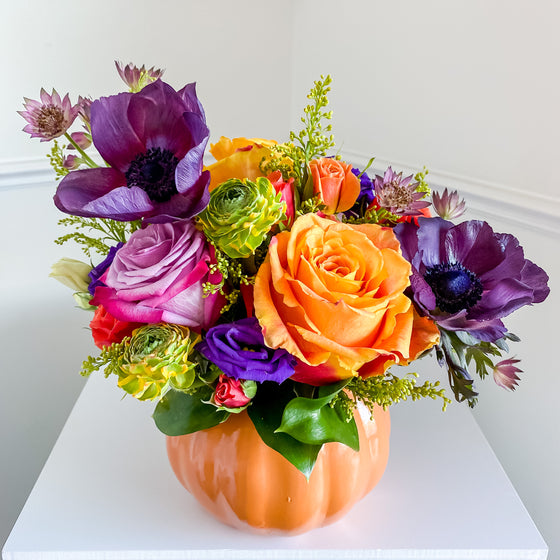 Pumpkin Spice Virtual Flower Workshop - October 21, 2020 @ 7pm