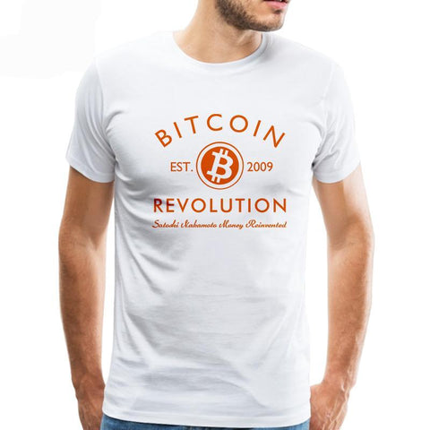 Bitcoin Revolution T-shirts