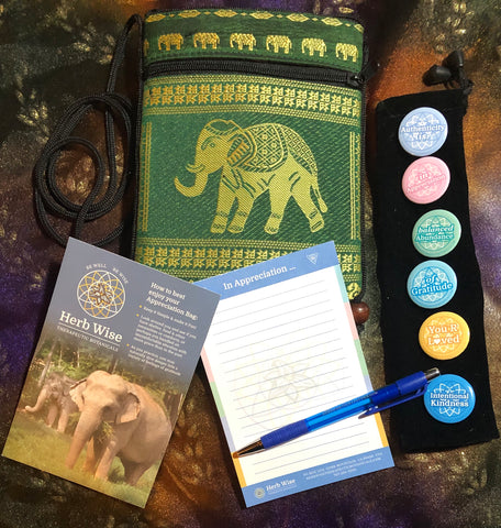 Elephant Sanctuary Appreciation Bag: Green