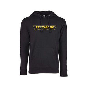 French Terry Pullover Black Hoody