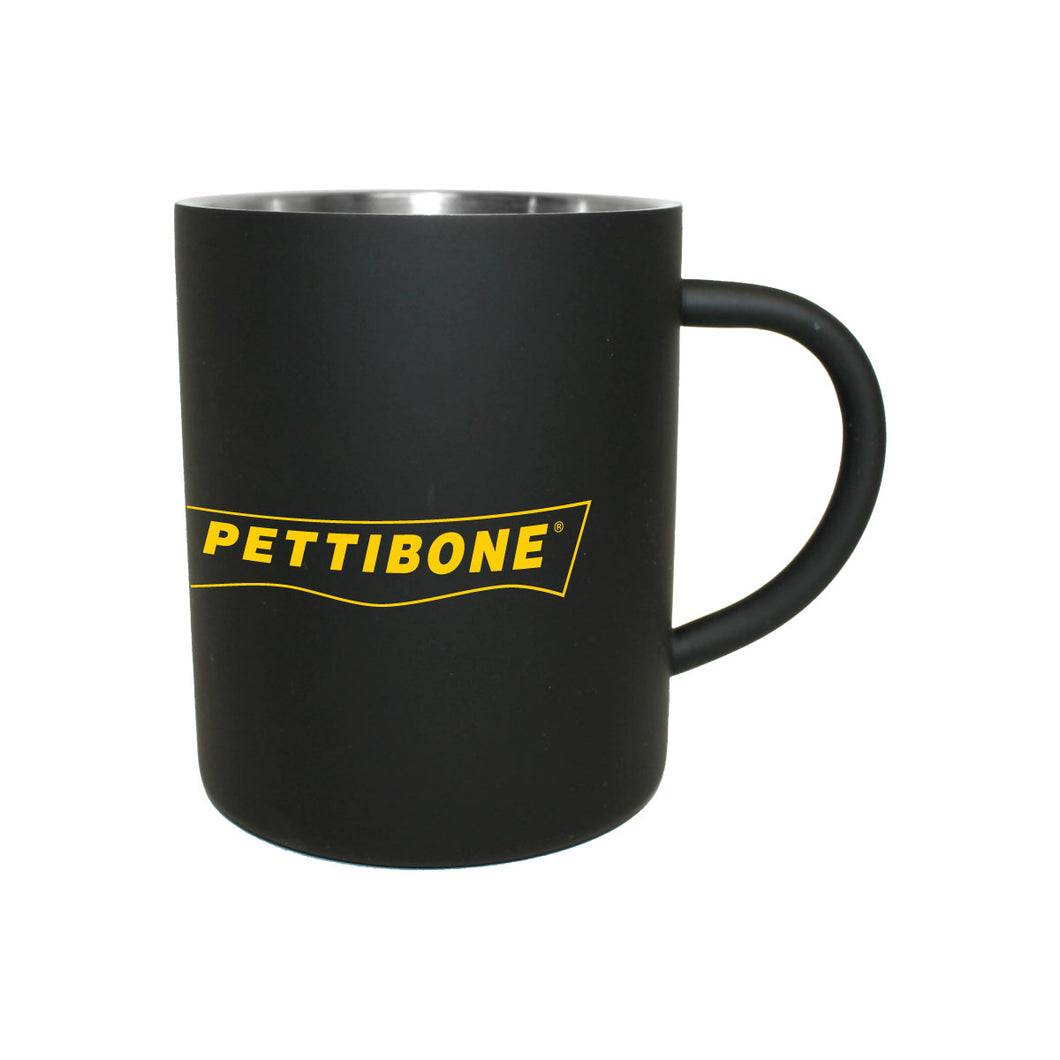 Coffee Mugs - Black w/ Pettibone logo