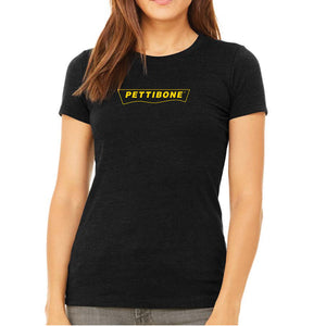 Pettibone Black Heather Ladies' Short Sleeve Tee