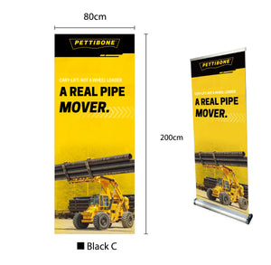 "Cary-Lift - 31.5"" x 78"" Retractable Banner"