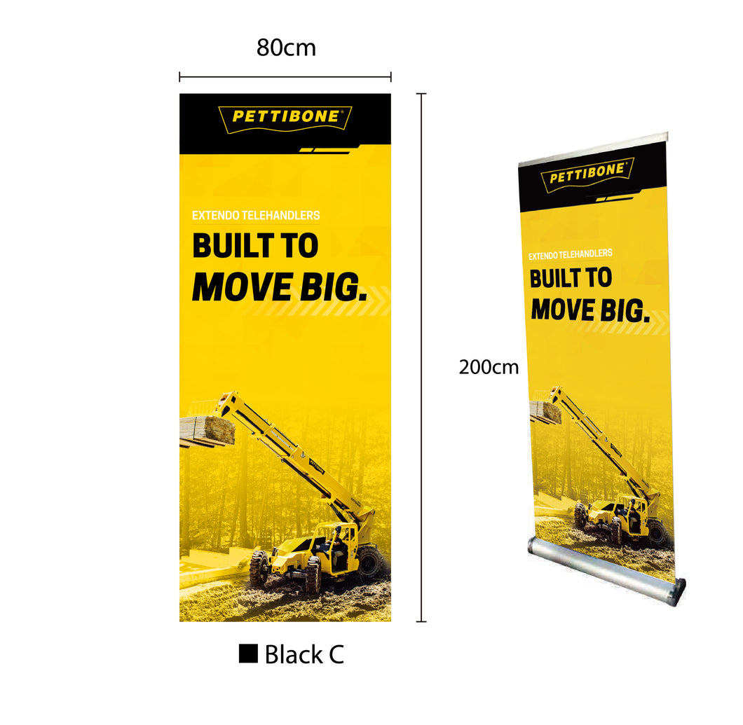 Extendo Retractable Banner 31.5