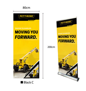 "Traverse- 31.5"" x 78"" Retractable Banner"