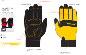 Custom gloves