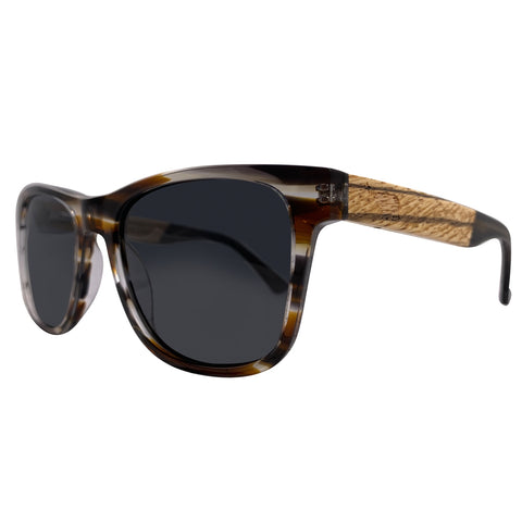 Acetate and Wood Sunglasses