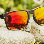 Volcanic Red Polarized Sunglasses