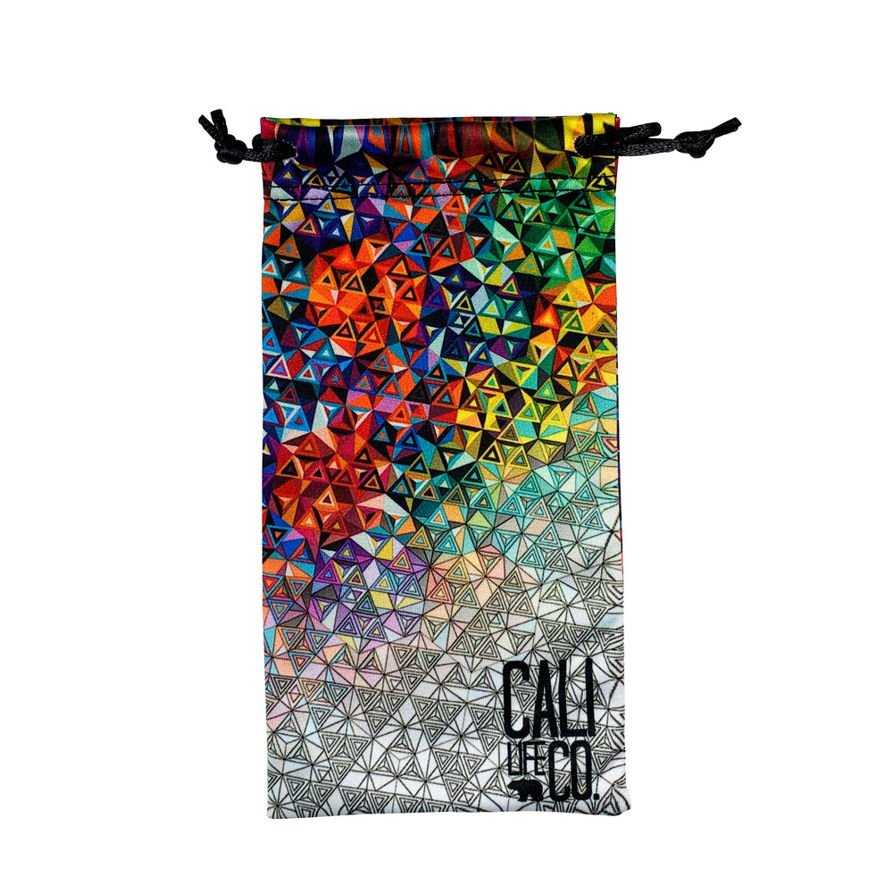 Geometric Style Limited Edition Microfiber Pouch