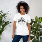 It's a Beautiful Day to Leave Me Alone T-Shirt | Choose Heather Peach/White