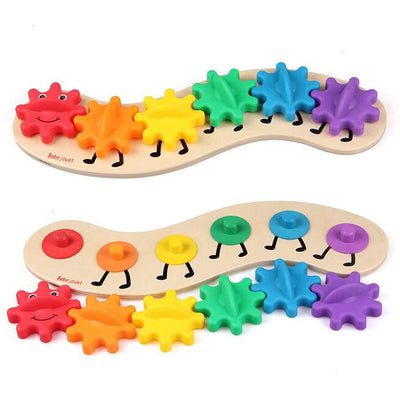 Colorful Caterpillar  - kidgenius education toys