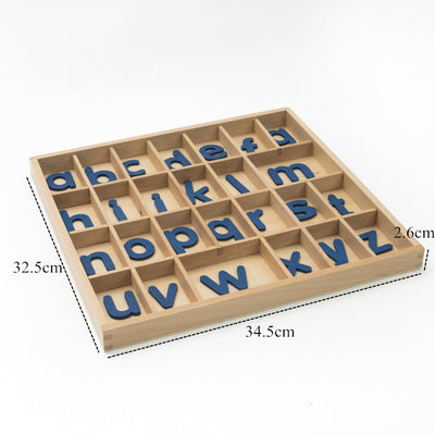 Wooden Alphabet Box COGNITION - kidgenius education toys