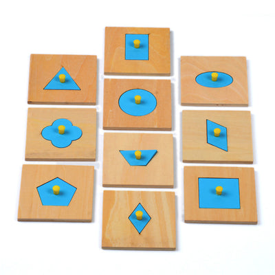 Wooden Shapes COGNITION - kidgenius education toys
