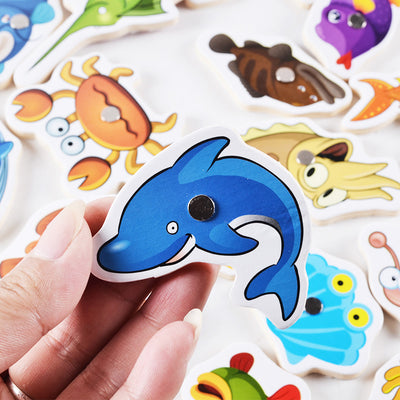 Magnetic Fishing Game SCIENCE - kidgenius education toys