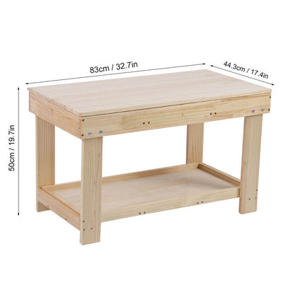 Bamboo Wood Kids Activity and Homework Table
