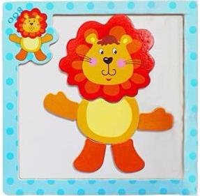 Magnetic Cartoon Puzzles FREE - kidgenius education toys