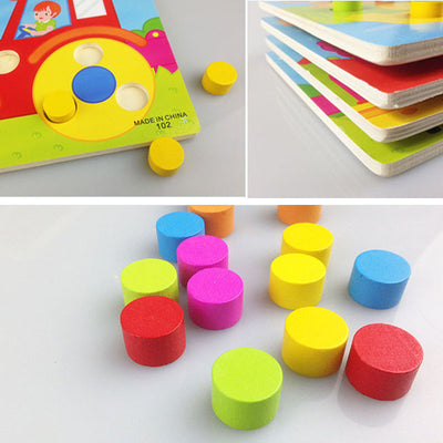 Color Match Board FREE - kidgenius education toys
