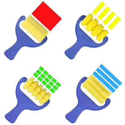 Paint Brush ( 4 pieces / set) FREE - kidgenius education toys