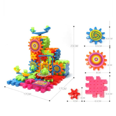 Gears 3D Puzzle  - kidgenius education toys