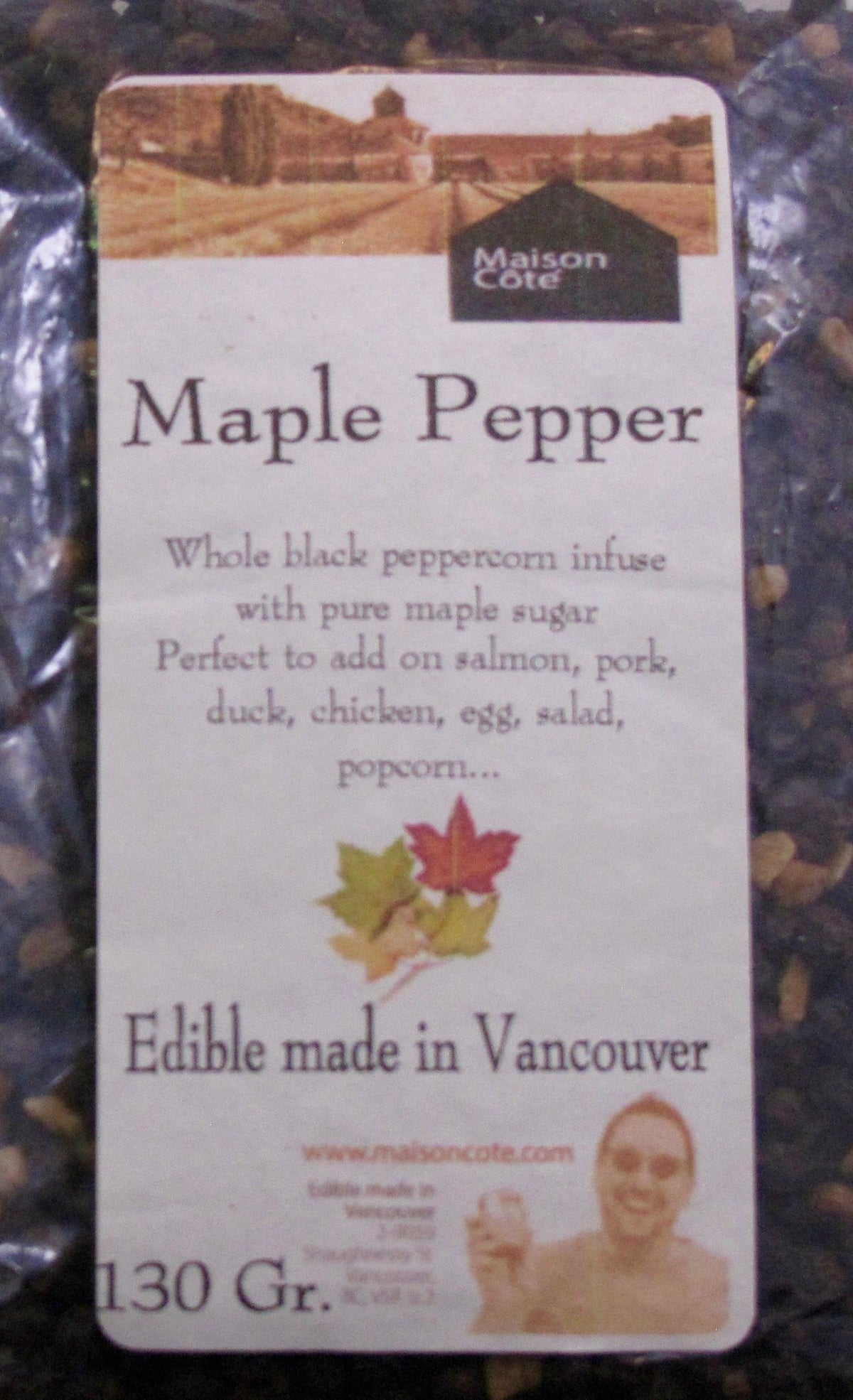 Whole Peppercorns - Maple Pepper