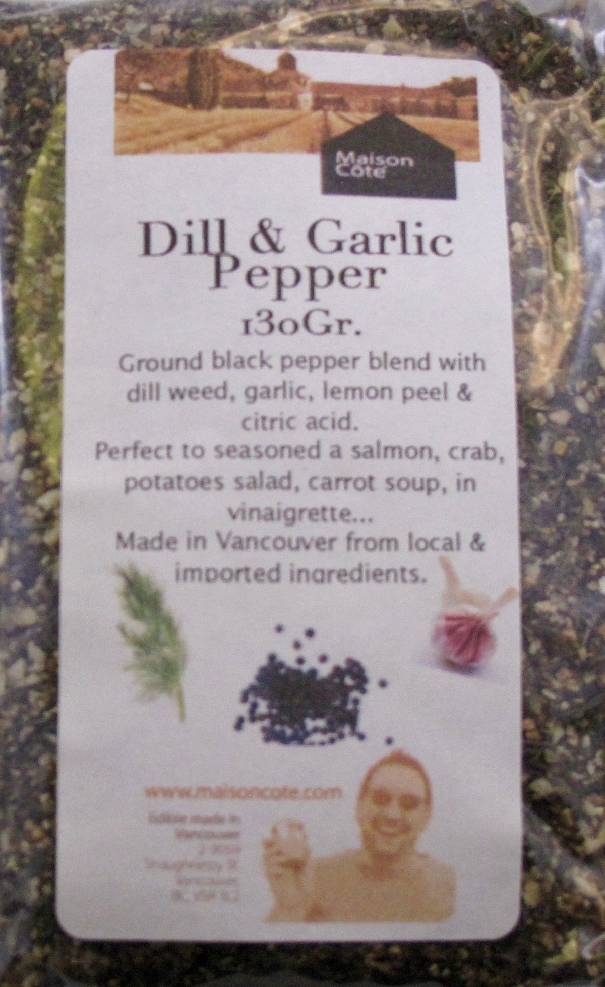 Ground - Dill Garlic Pepper