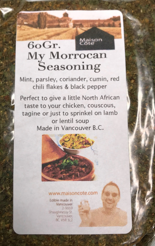 My Morrocan Seasoning