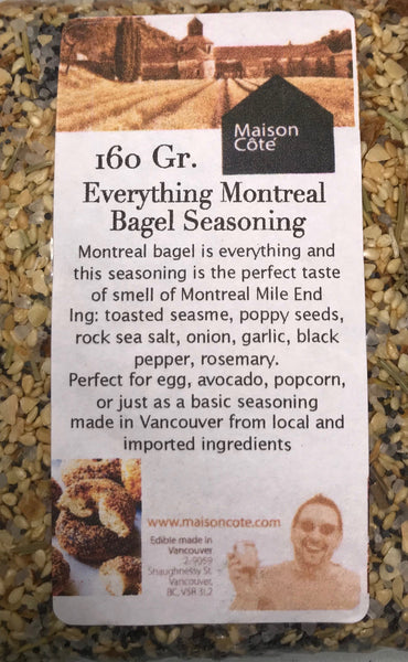 Everything Montereal Bagel Seasoning