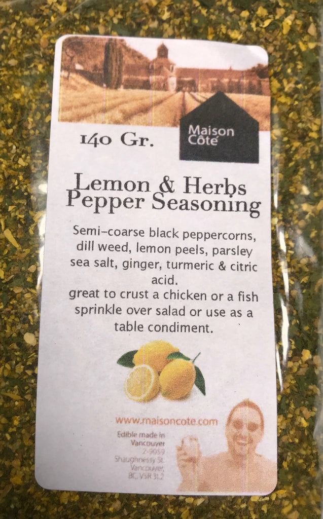 Lemon & Herbs Pepper Seasoning