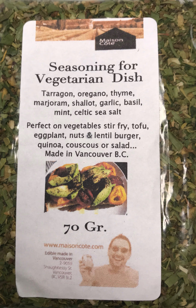 Seasoning for Vegetarian Dish
