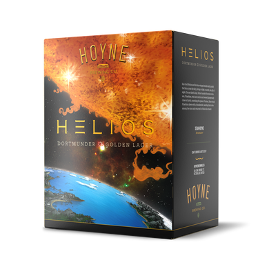 Helios Golden Lager 6 Pack Bottles