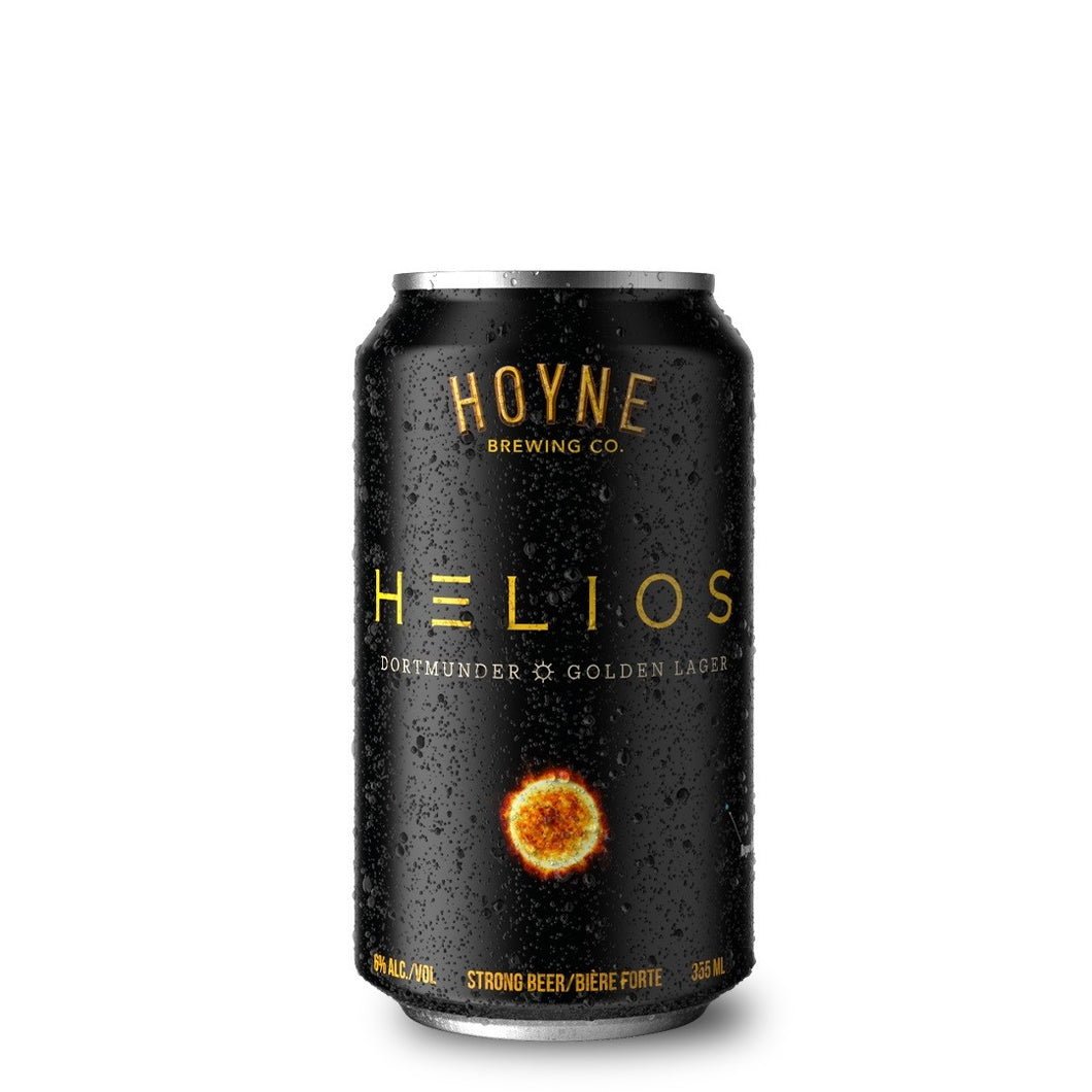 Helios Golden Lager 6 Pack Cans