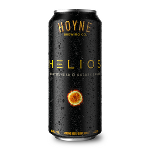Helios Golden Lager 4 Pack Tall Cans