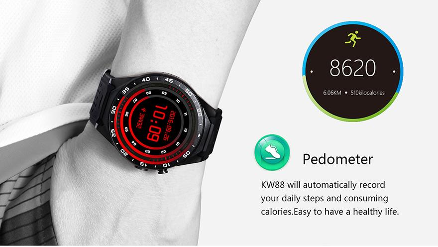 Android 3G WIFI GPS Smartwatch