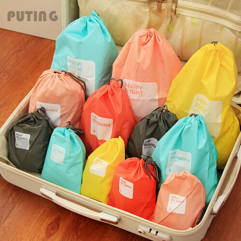 Waterproof Travel Storage Bag (4pcs)