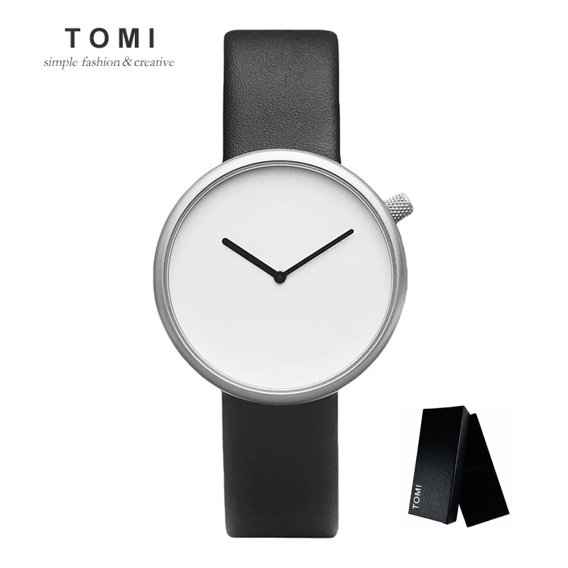 Tomi Minimalist Blackout Watch
