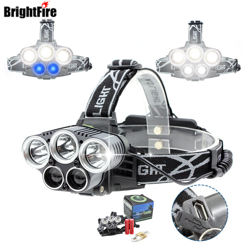 Brightfire 15000 lumens LED Headlamp